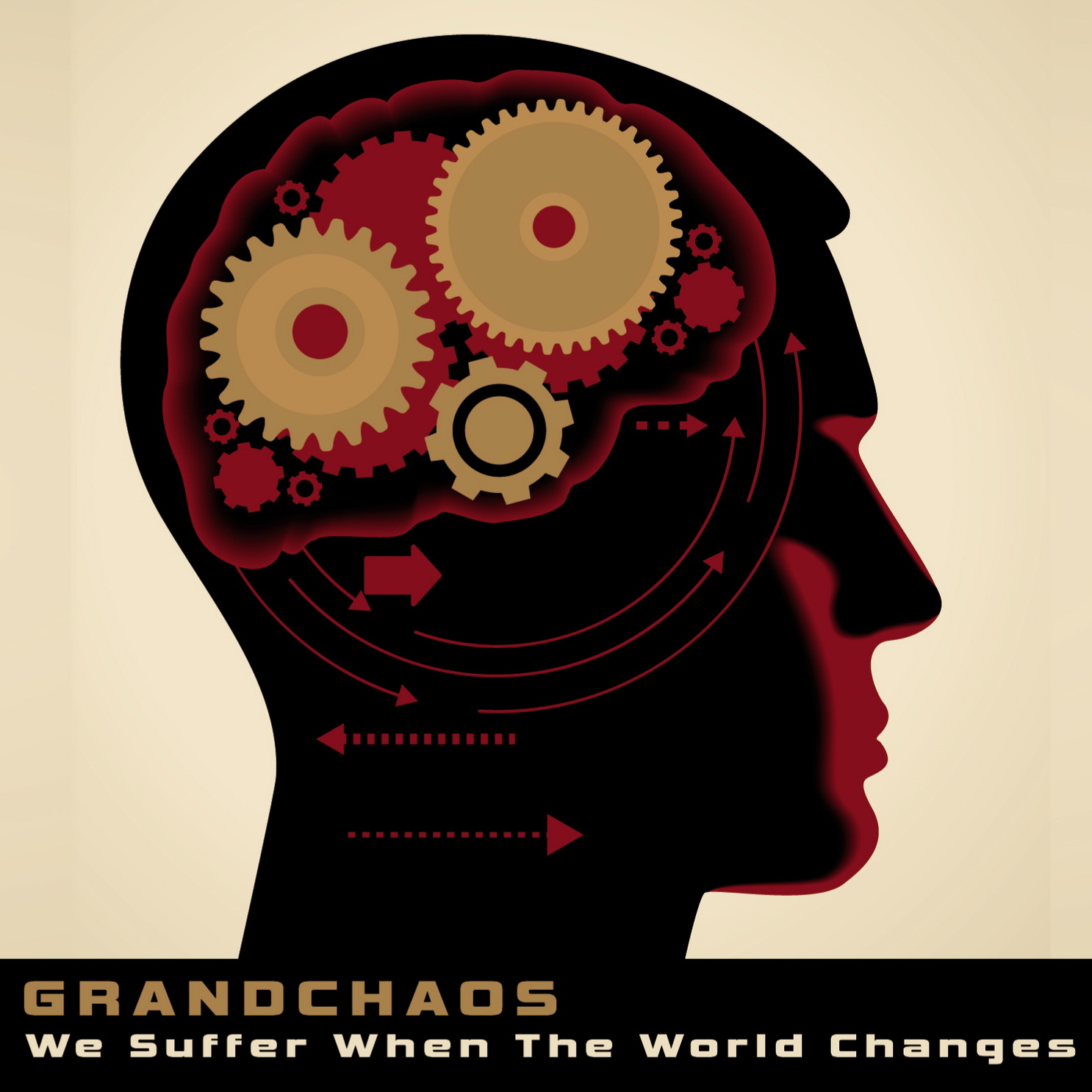 "GRANDCHAOS release ""We suffer when the world changes"" on EK Product and Space Race Records"