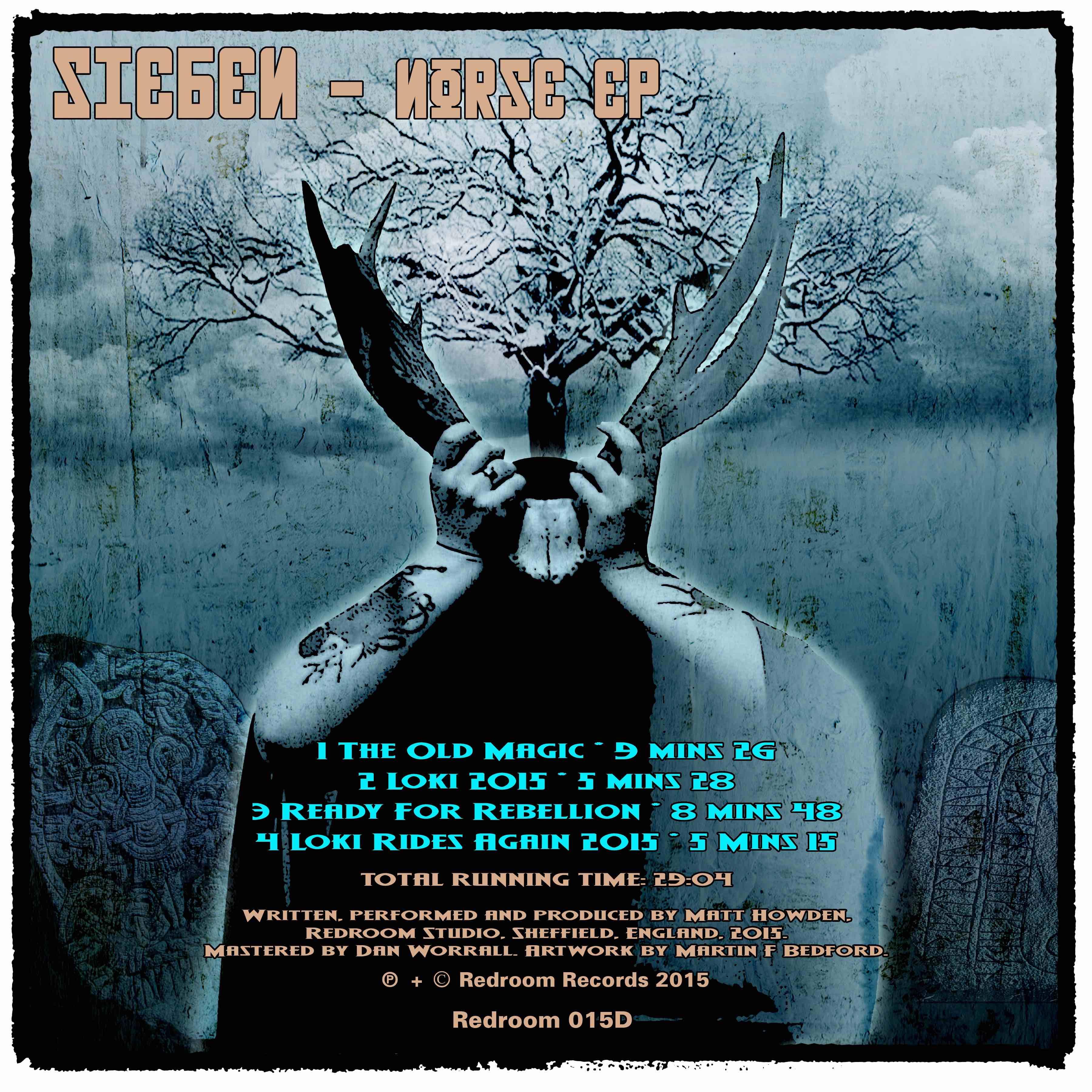 Sieben's Norse EP released 11 Nov 2015