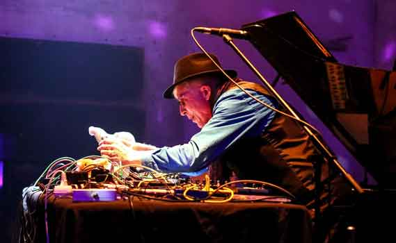 Rhys Chatham - courtesy of Roland Owsnitzk