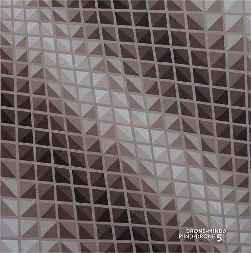 Various Artists - Drone-Mind//Mind-Drone Vol. 5 LP PROMO INFO