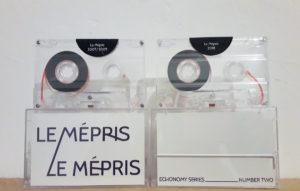 label: OM #11: ECHONOMY SPLIT SERIES #2 - Le Mépris/Le Mépris