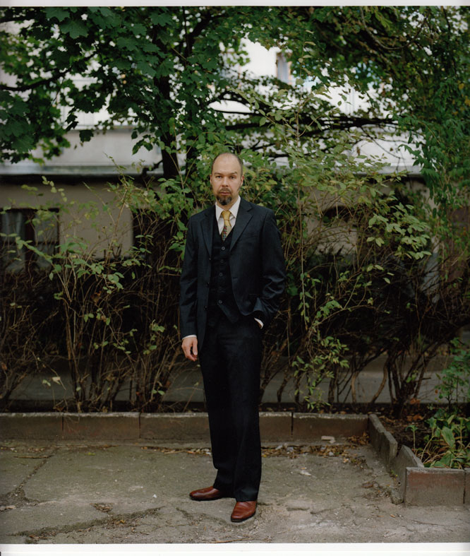 Mika Vainio - photo by Kai von Rabendau