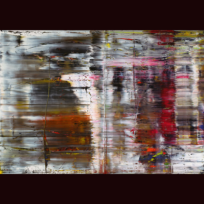 Demonstration Disc - cover artwork by Gerhard Richter