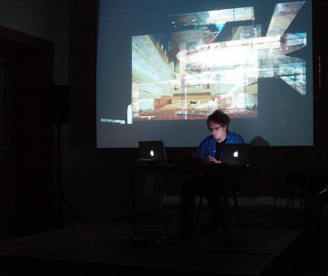 Nicolas Wiese performing in Ghent